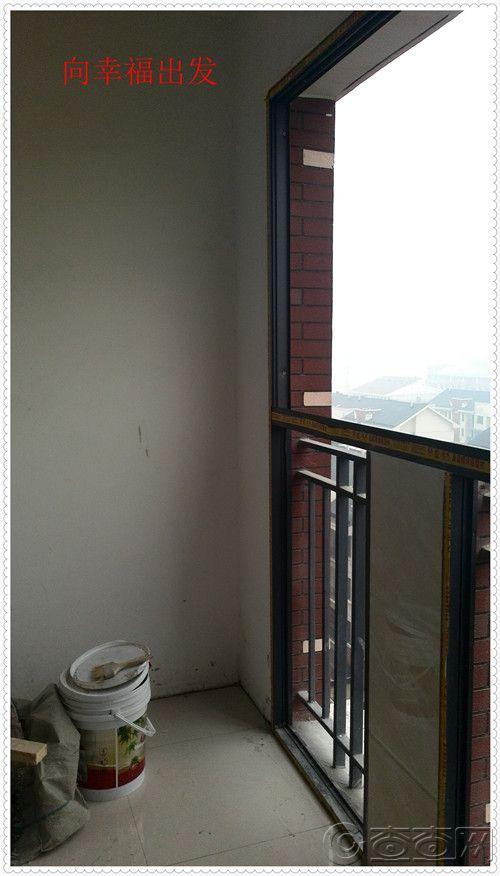 阳台-准备做柜子的一侧
