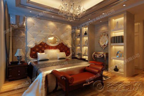 主卧室一角