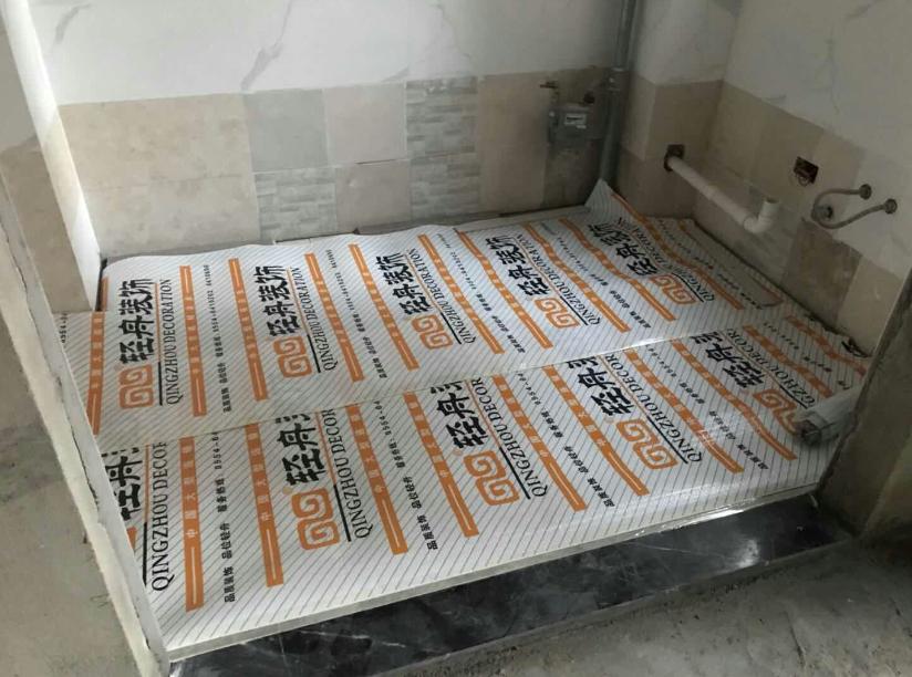 厨房地砖防护