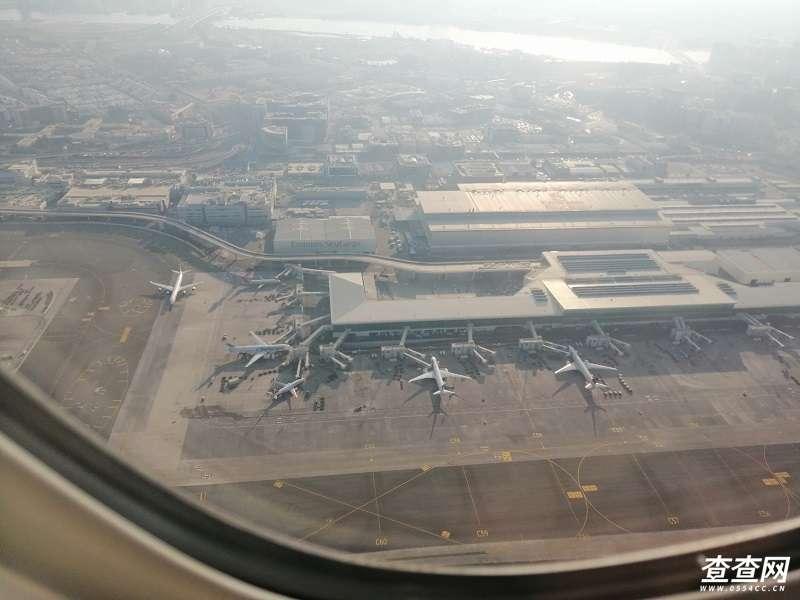 鸟瞰迪拜机场