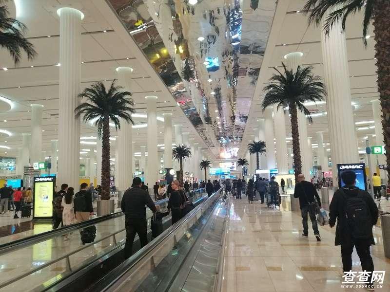 迪拜机场到达厅